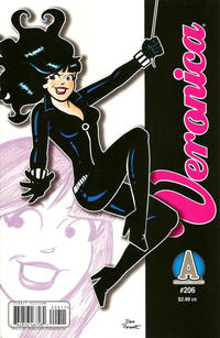 Cover Thumbnail for Veronica (Archie, 1989 series) #206 [Direct Edition]