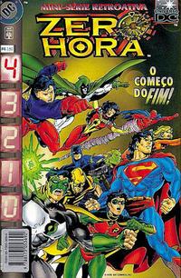 Cover for Zero Hora (Editora Abril, 1996 series) #4