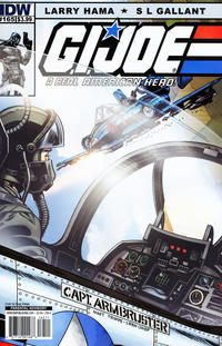Cover Thumbnail for G.I. Joe: A Real American Hero (IDW, 2010 series) #165 [Cover A]