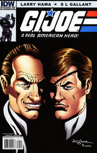 Cover Thumbnail for G.I. Joe: A Real American Hero (IDW, 2010 series) #165 [Cover B]