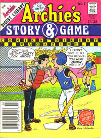 Cover Thumbnail for Archie's Story & Game Digest Magazine (Archie, 1986 series) #7