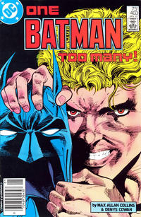 Cover Thumbnail for Batman (DC, 1940 series) #403 [Newsstand Variant]