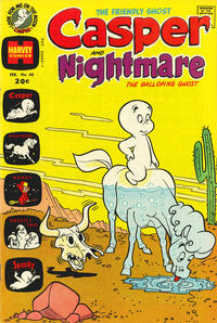 Cover Thumbnail for Casper & Nightmare (Harvey, 1964 series) #40