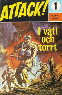 Cover Thumbnail for Attack (Semic, 1967 series) #1/1971
