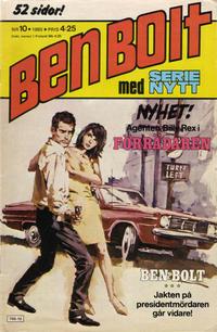 Cover Thumbnail for Serie-nytt [delas?] (Semic, 1970 series) #10/1980