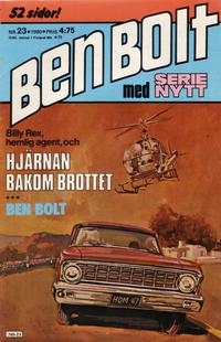 Cover Thumbnail for Serie-nytt [delas?] (Semic, 1970 series) #23/1980
