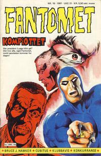 Cover Thumbnail for Fantomet (Semic, 1976 series) #16/1981