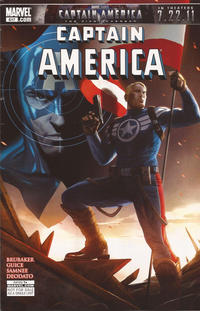 Cover Thumbnail for Captain America (Marvel, 2005 series) #617 [Giveaway Edition]