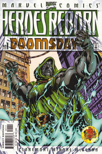 Cover Thumbnail for Heroes Reborn: Doomsday (Marvel, 2000 series) #1 [Direct Edition]