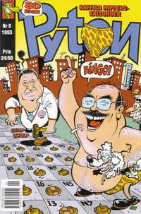 Cover Thumbnail for Pyton (Atlantic Förlags AB, 1990 series) #6/1993