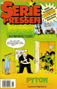 Cover Thumbnail for Seriepressen (Formatic, 1993 series) #6/1993