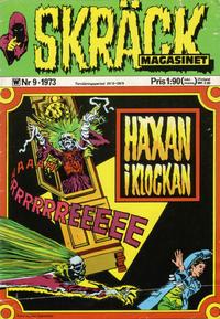 Cover Thumbnail for Skräckmagasinet (Williams Förlags AB, 1972 series) #9/1973