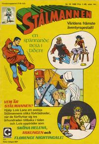 Cover Thumbnail for Stålmannen (Centerförlaget, 1949 series) #18/1968