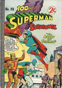 Cover Thumbnail for Superman Supacomic (K. G. Murray, 1959 series) #28