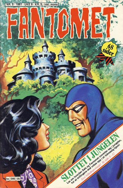 Cover for Fantomet (Semic, 1976 series) #5/1981