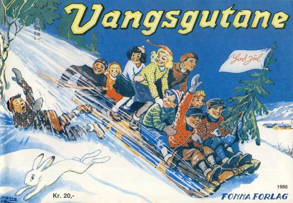 Cover for Vangsgutane (Fonna Forlag, 1941 series) #1986