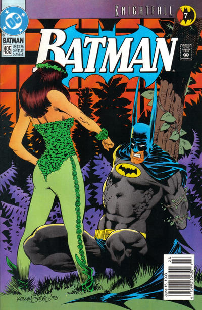 Cover for Batman (DC, 1940 series) #495 [Direct]