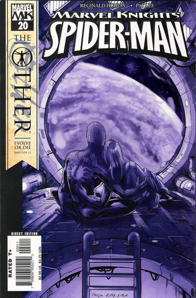 Cover for Marvel Knights Spider-Man (Marvel, 2004 series) #20 [Direct Edition]