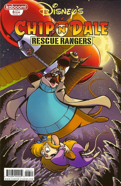 Cover for Chip 'n' Dale Rescue Rangers (Boom! Studios, 2010 series) #6