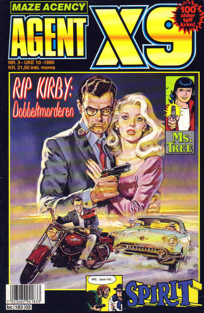 Cover for Agent X9 (Semic, 1976 series) #3/1995