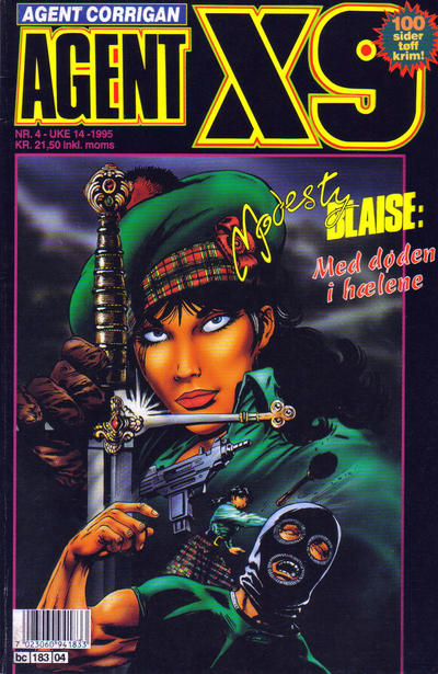 Cover for Agent X9 (Semic, 1976 series) #4/1995