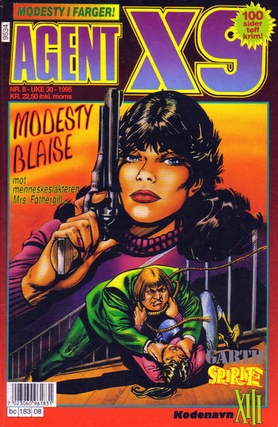 Cover for Agent X9 (Semic, 1976 series) #8/1995