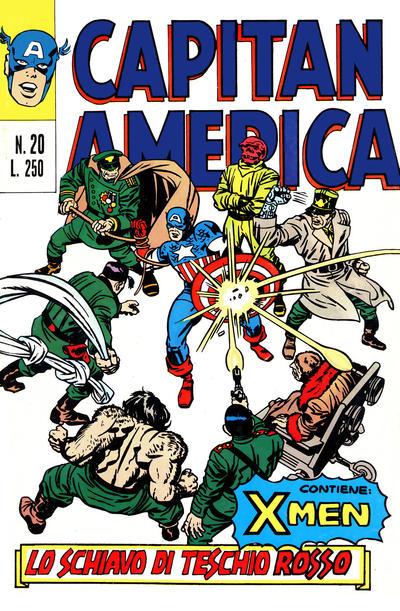 Cover for Capitan America (Editoriale Corno, 1973 series) #20