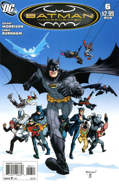 Cover for Batman, Inc. (DC, 2011 series) #6 [Frazer Irving Variant Cover]