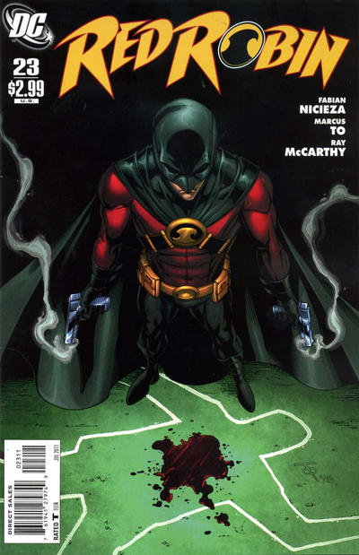 Cover for Red Robin (DC, 2009 series) #23