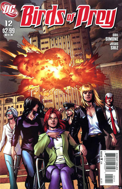 Cover for Birds of Prey (DC, 2010 series) #12