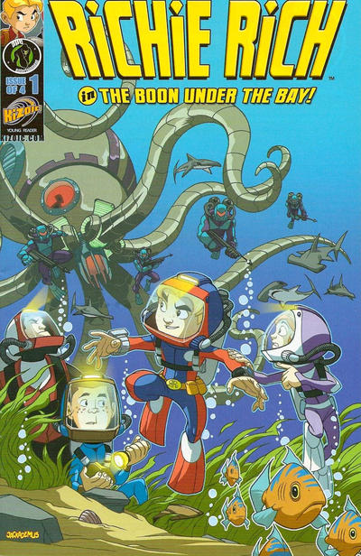 Cover for Richie Rich: Rich Rescue (Ape Entertainment, 2011 series) #1 [Regular edition]