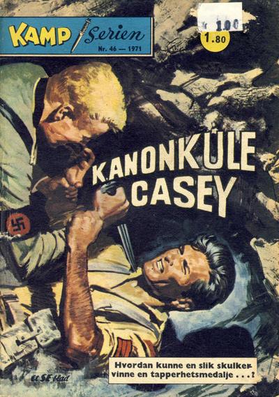 Cover for Kamp-serien (Serieforlaget / Se-Bladene / Stabenfeldt, 1964 series) #46/1971