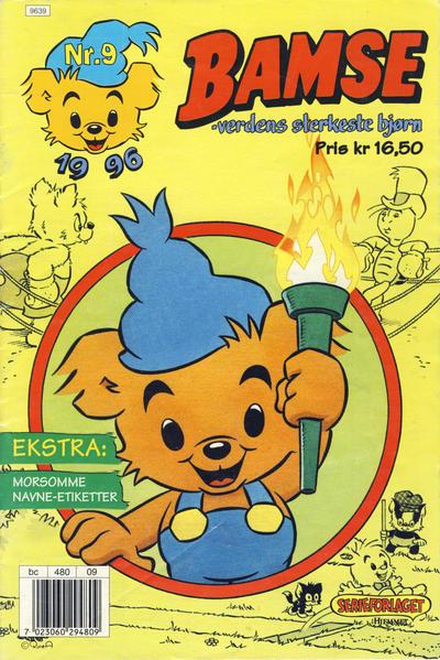 Cover for Bamse (Hjemmet, 1991 series) #9/1996