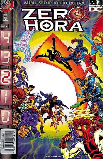 Cover for Zero Hora (Editora Abril, 1996 series) #2