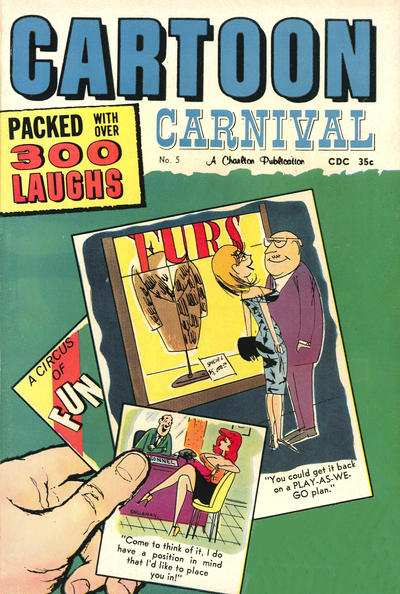Cover for Cartoon Carnival (Charlton, 1962 series) #5