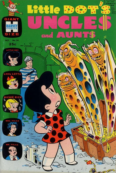 Cover for Little Dot's Uncles and Aunts (Harvey, 1961 series) #24