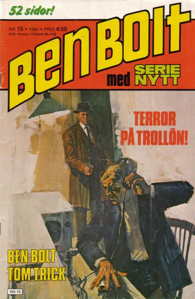 Cover for Serie-nytt [delas?] (Semic, 1970 series) #15/1980