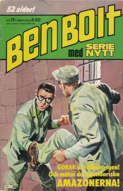 Cover for Serie-nytt [delas?] (Semic, 1970 series) #17/1980