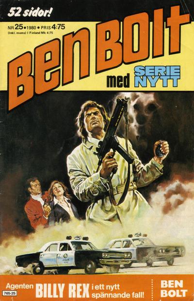 Cover for Serie-nytt [delas?] (Semic, 1970 series) #25/1980