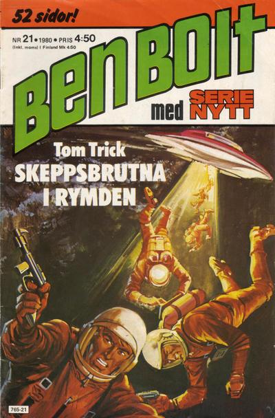 Cover for Serie-nytt [delas?] (Semic, 1970 series) #21/1980