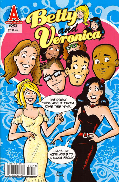Cover for Betty and Veronica (Archie, 1987 series) #253