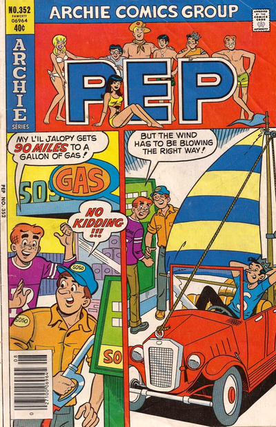 Cover for Pep (Archie, 1960 series) #352