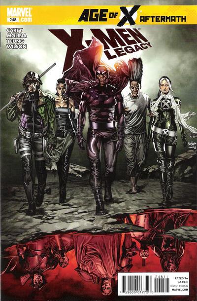 Cover for X-Men: Legacy (Marvel, 2008 series) #248