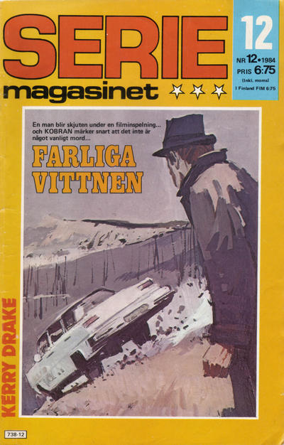 Cover for Seriemagasinet (Semic, 1970 series) #12/1984