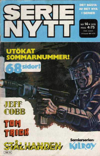 Cover for Serie-nytt [delas?] (Semic, 1970 series) #14/1978