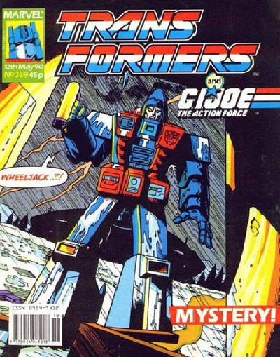 Cover for Transformers (Marvel UK, 1984 series) #269