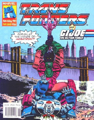 Cover for Transformers (Marvel UK, 1984 series) #268