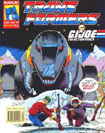Cover for Transformers (Marvel UK, 1984 series) #267