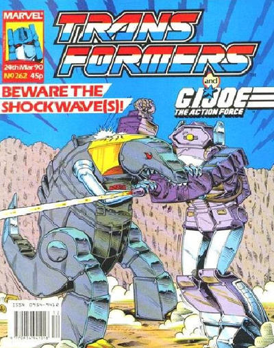 Cover for Transformers (Marvel UK, 1984 series) #262