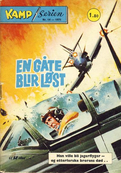 Cover for Kamp-serien (Serieforlaget / Se-Bladene / Stabenfeldt, 1964 series) #14/1971